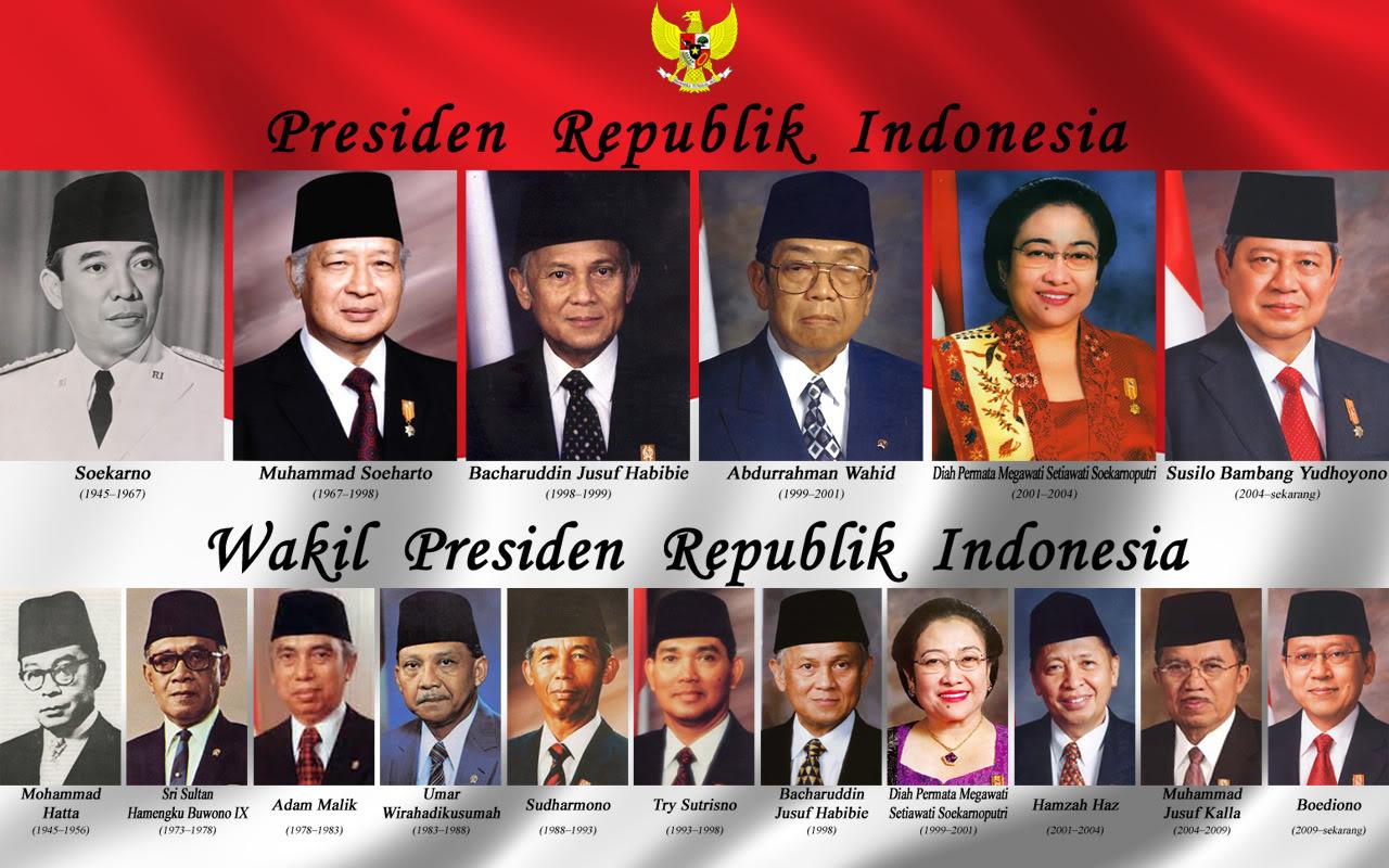 Presiden termuda: Soekarno (44 tahun, 2 bulan). Presiden tertua: